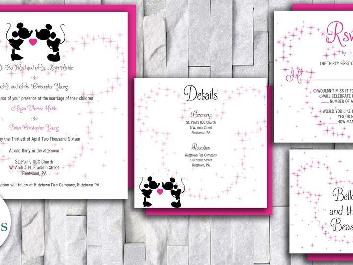 Tmx Disney Wedding Invitation 51 644268 158533616873661 Altoona, PA wedding invitation