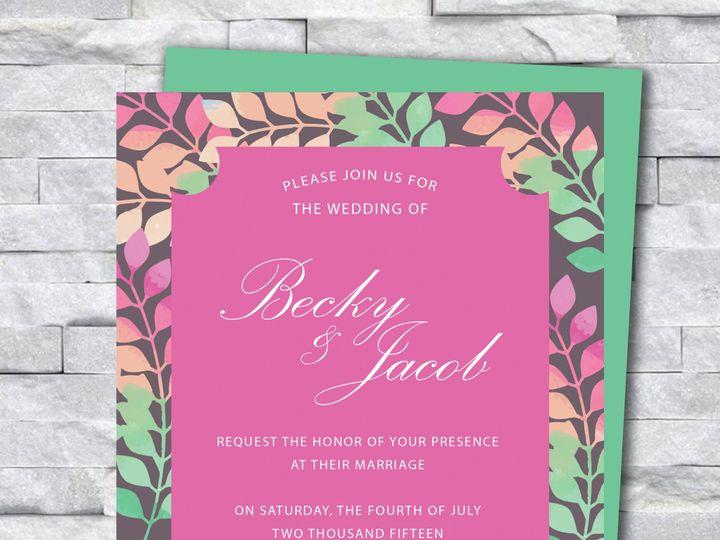 Tmx Invite 7 51 644268 158533617566635 Altoona, PA wedding invitation
