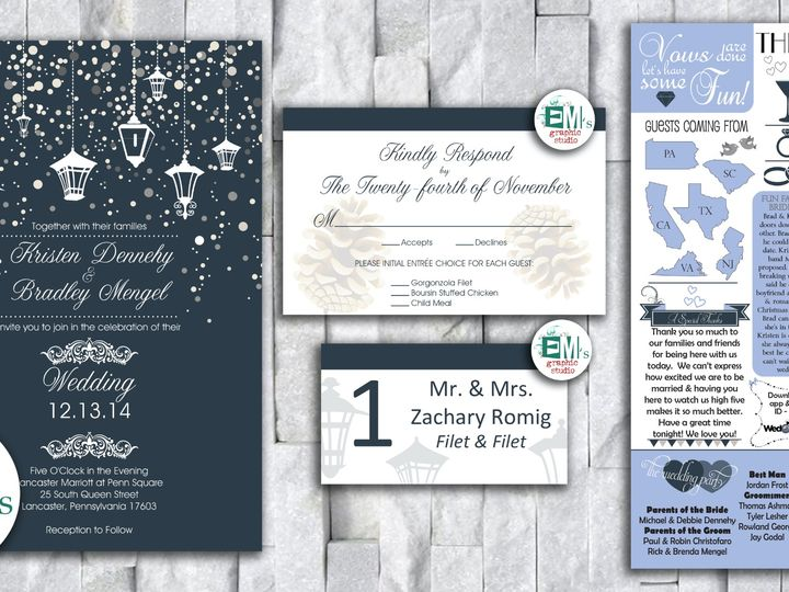 Tmx Kristens Place Card Card Wedding Invitation Copy 51 644268 158533617862209 Altoona, PA wedding invitation