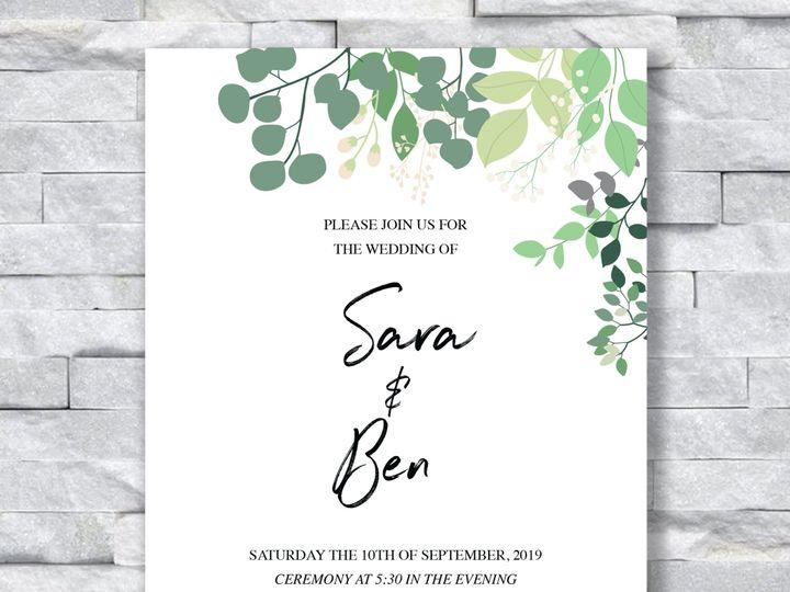 Tmx Leaves Invitation 51 644268 158533617919383 Altoona, PA wedding invitation