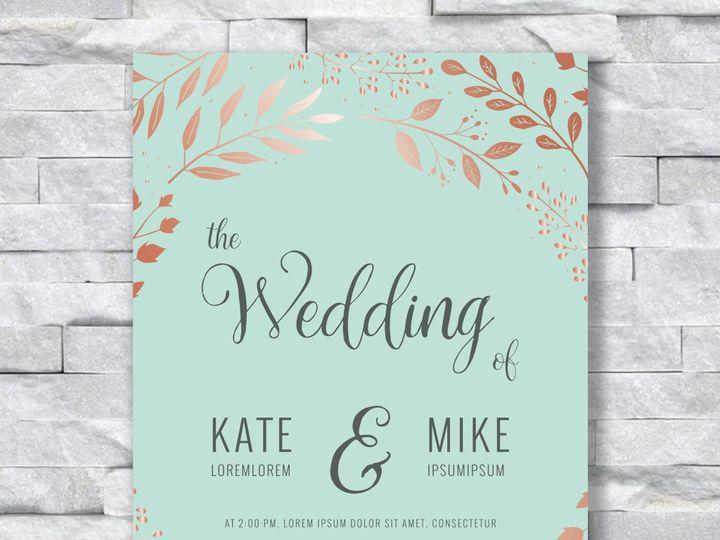 Tmx Light Green And Gold 51 644268 158533618267648 Altoona, PA wedding invitation
