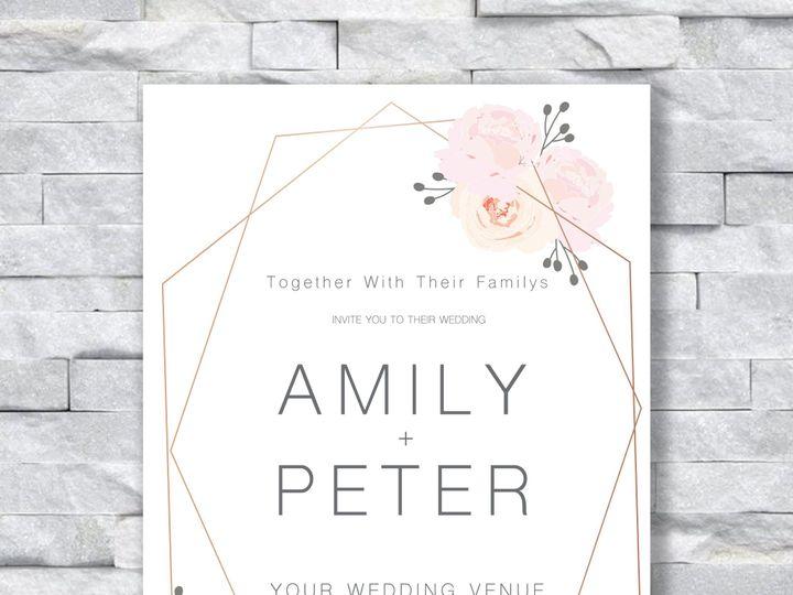 Tmx Peter And Amily Roses 51 644268 158533618344635 Altoona, PA wedding invitation
