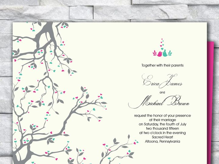 Tmx Square Wedding Invitation 4 51 644268 158533618775255 Altoona, PA wedding invitation