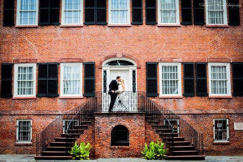 The Davenport House is a picture perfect backdrop for your special day.
