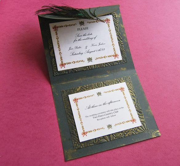 """Gone with the wind"" inspired invitation  Elegant wedding invitation, based in the movie ""Gone with..."