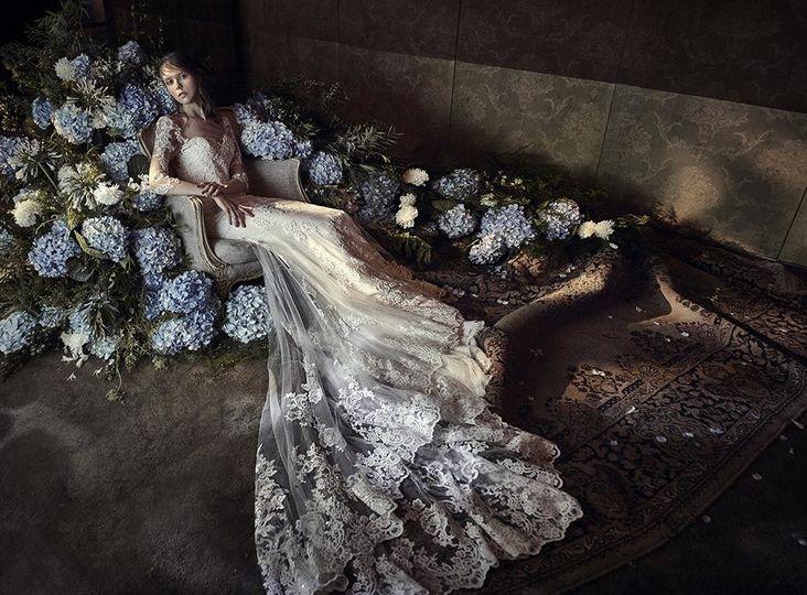 Beautiful lace details
