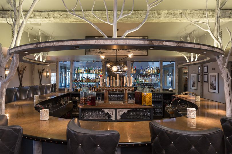 Wideshot of the bar