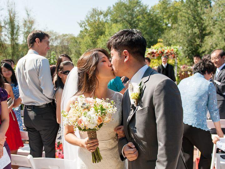 Tmx 1415899996027 Couples Kiss With Bouquet Alexandria, VA wedding florist