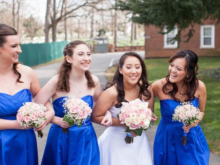 Tmx 1455998927690 Lydia And Bridesmaids Bouquets Alexandria, VA wedding florist