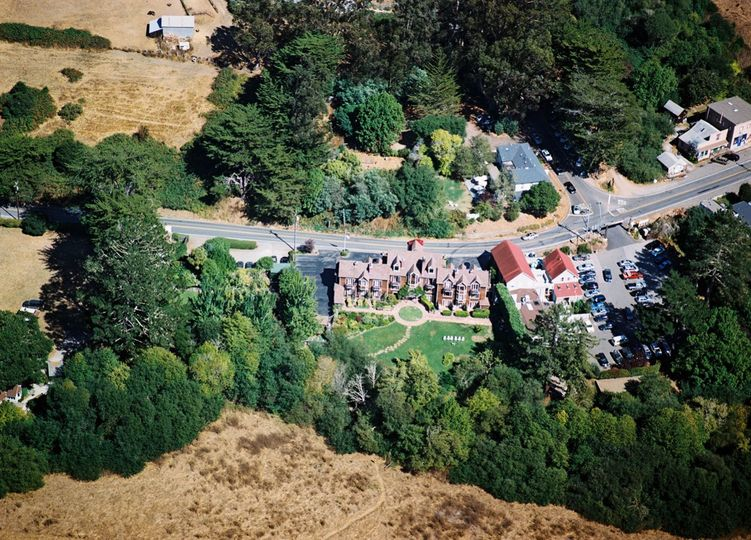 Exterior view of the Point Reyes Seashore Lodge