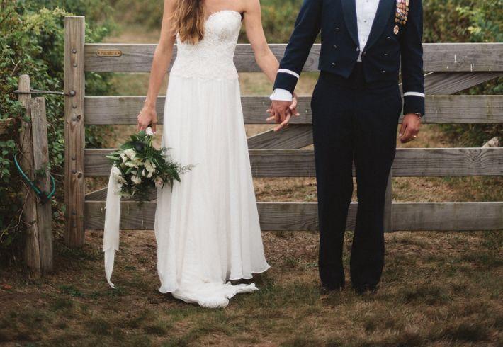 Bouquet for a farm wedding