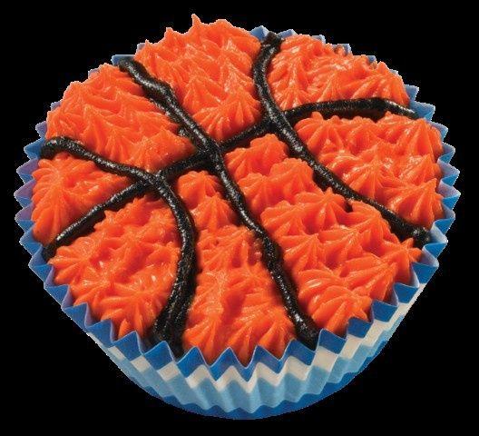 basketball cupcake copypng
