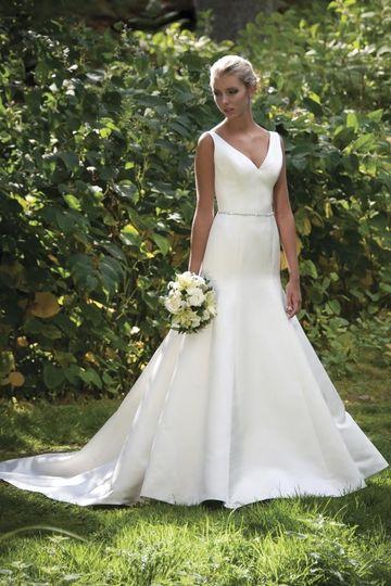 The white magnolia bridal collection dress attire for Wedding dresses in augusta ga