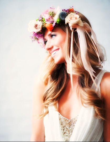 mint gold bride