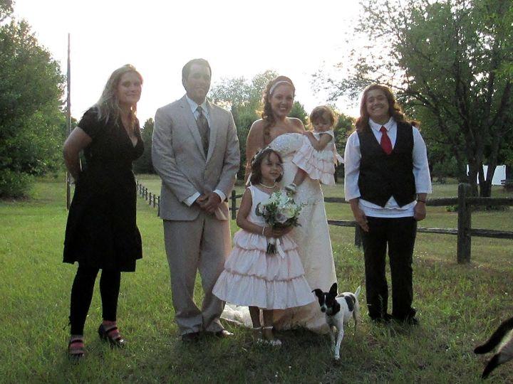 DJ Dani and DJ Miranda with Jenna and Levi and Family