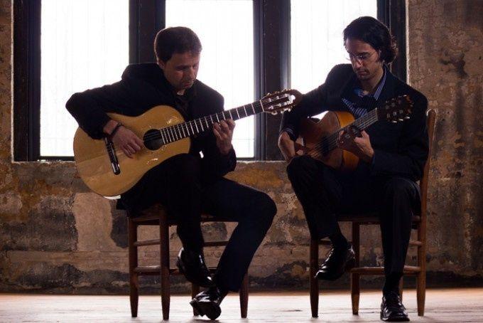 artists duo spanish guitar