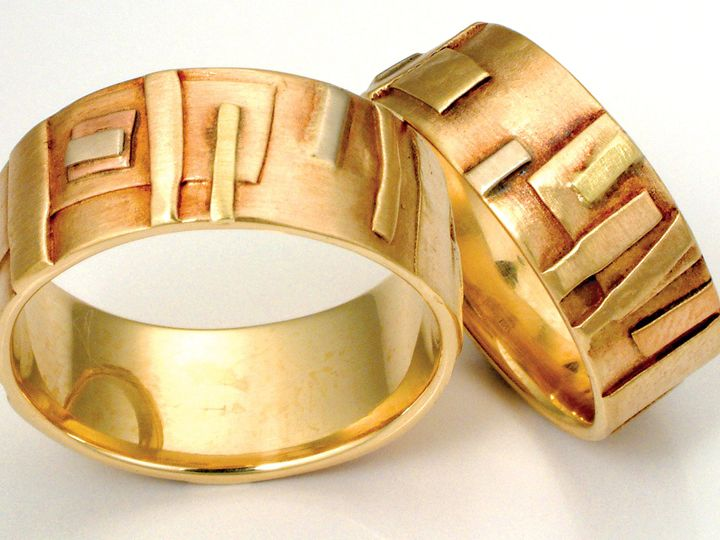Tmx 1452807739038 14k And 18k Gold Custom Wedding Bands Handmade By  Asheville wedding jewelry