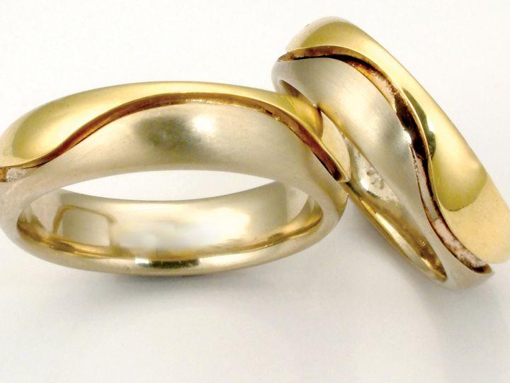 Tmx 1452807989558 Union Bands Wave Lg Asheville wedding jewelry