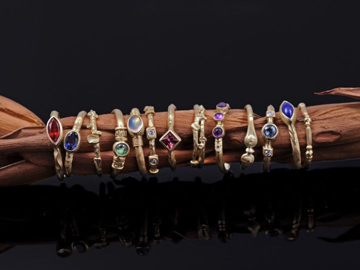 Tmx 1452810617745 Stack Rings Group Sm Asheville wedding jewelry