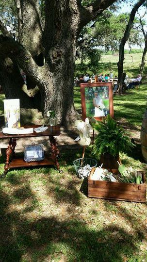 black wedding antiques