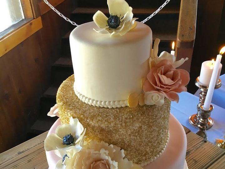 Tmx 1478021927970 Lauren Bakersfield, CA wedding cake