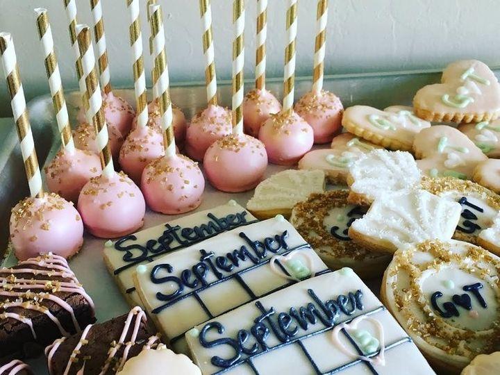 Tmx 1478022101052 Cookies Bakersfield, CA wedding cake