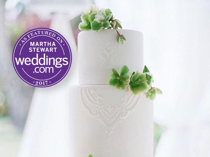 Tmx 1510015510510 Martha Stewart Cake2 Bakersfield, CA wedding cake