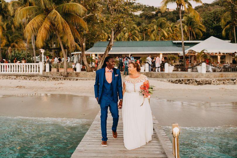 Destination Wedding in Bequia
