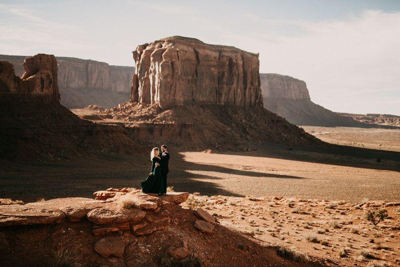 Monument Valley Elopement