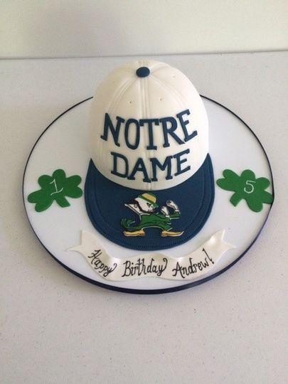 Notre dame cake