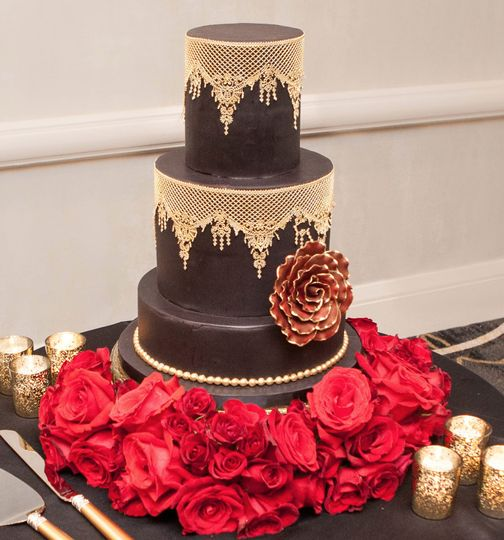 Wedding Style Shoot Cake