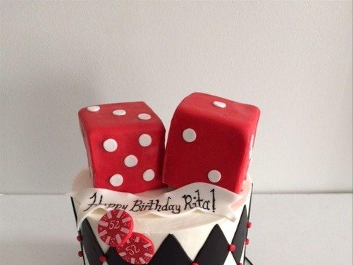 Tmx 1450332240194 Rita Casino Cake Washington, District Of Columbia wedding cake