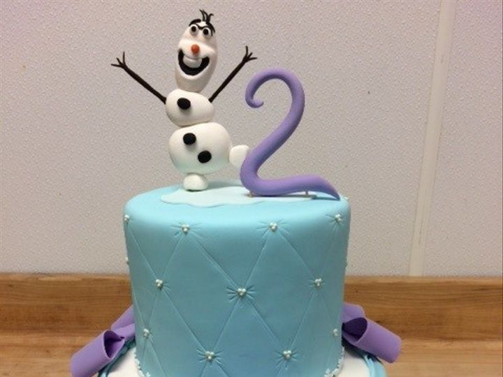 Tmx 1451710977230 Frozen Tier Cake   Samiyah Washington, District Of Columbia wedding cake