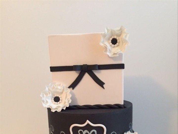 Tmx 1464832983262 Chalk Look Wedding Display Cake Washington, District Of Columbia wedding cake