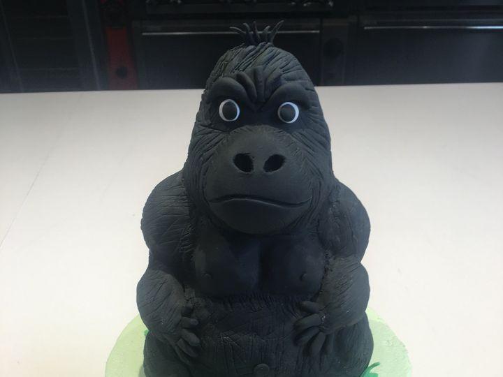Tmx 1465102284187 Gorilla Grooms Cake Washington, District Of Columbia wedding cake