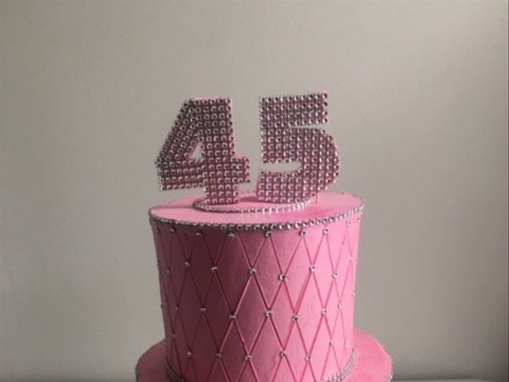 Tmx 1476108909082 45 Bling Tier Cake Washington, District Of Columbia wedding cake