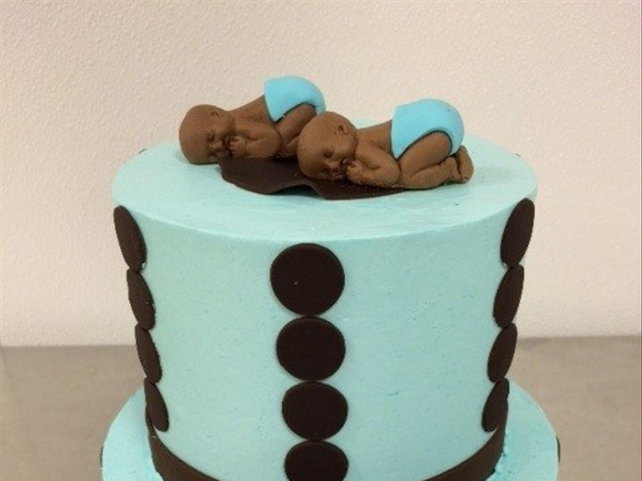 Tmx 1476109092689 Shawon Twin Cake Washington, District Of Columbia wedding cake
