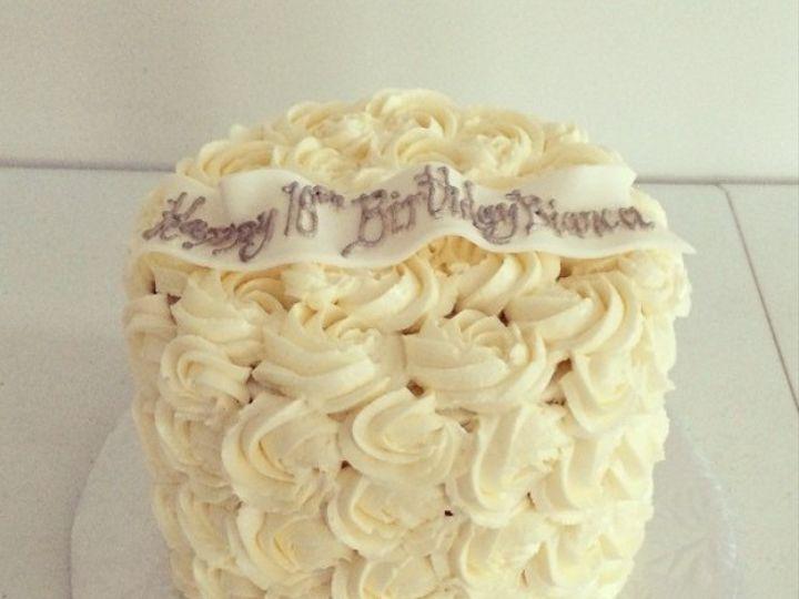 Tmx 1476122800992 Bianca Rosette White Cake Washington, District Of Columbia wedding cake