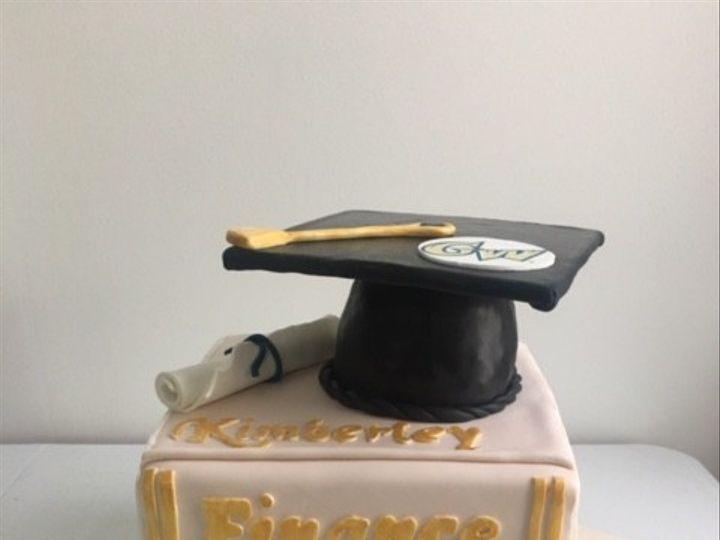 Tmx 1476123057432 Kimberley Gw Grad Book Cake Washington, District Of Columbia wedding cake