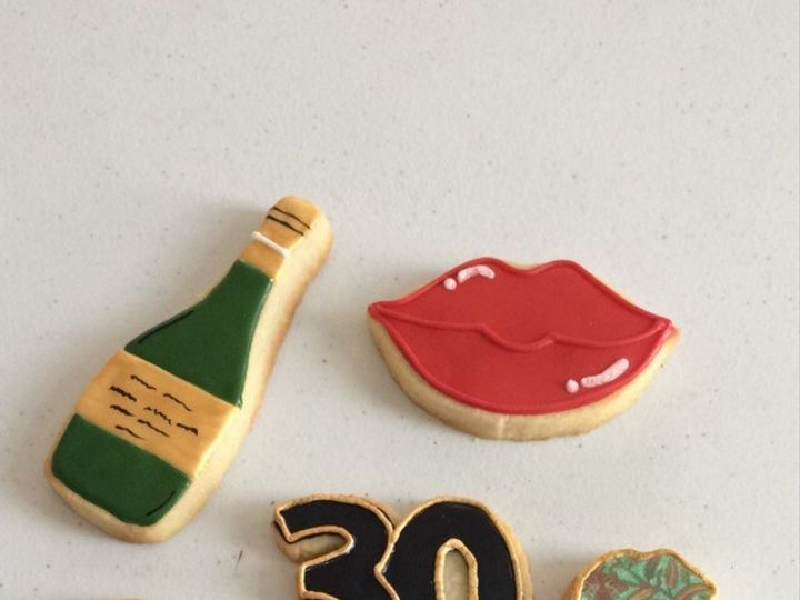 Tmx 1476123748773 30th Birthday Cookies Washington, District Of Columbia wedding cake