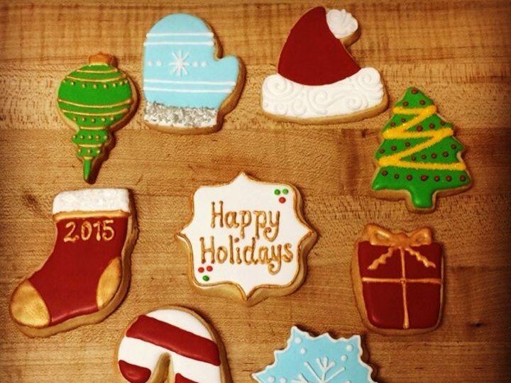 Tmx 1476124129072 2015 Christmas Cookies Washington, District Of Columbia wedding cake