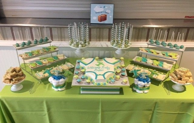 Tmx 1494420584809 Baker Baby Shower Full Table Washington, District Of Columbia wedding cake