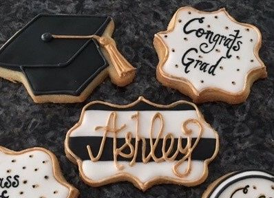 Tmx 1494420665859 2016 Grad Cookies Cropped Washington, District Of Columbia wedding cake