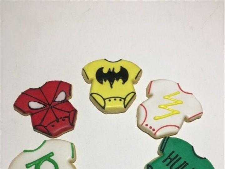 Tmx 1494421086824 Superhero Onesie Cookies Washington, District Of Columbia wedding cake