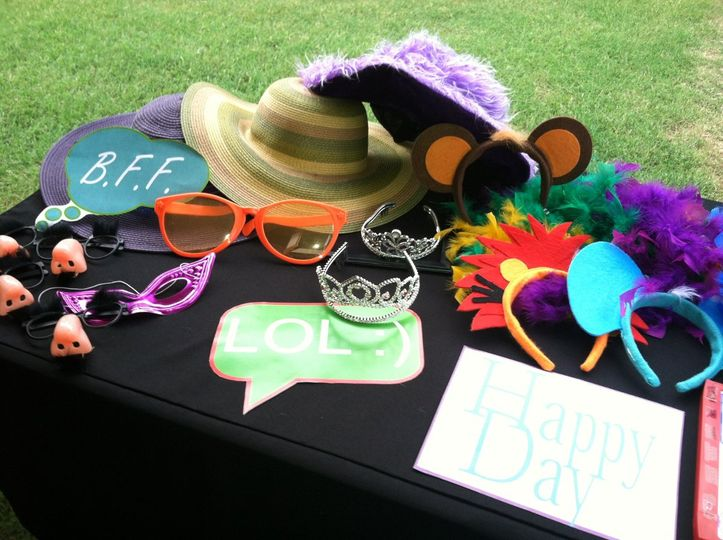 Pure Photo Booth rentals include a full prop closet including a mustache bar :) & is always fully...