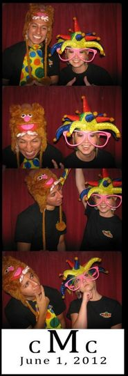 You choose your message and colors to personalize photo strips for your special occasion. Fun props...