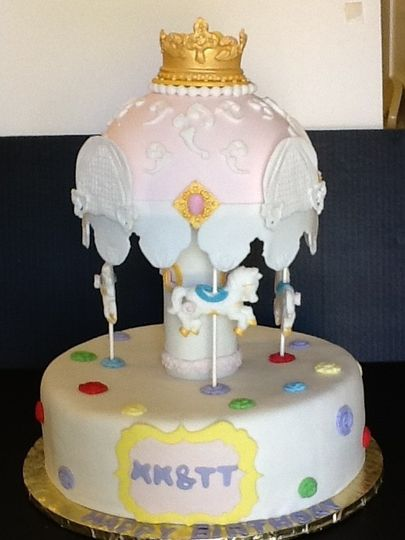 Carousel cake - Delights by Lisa