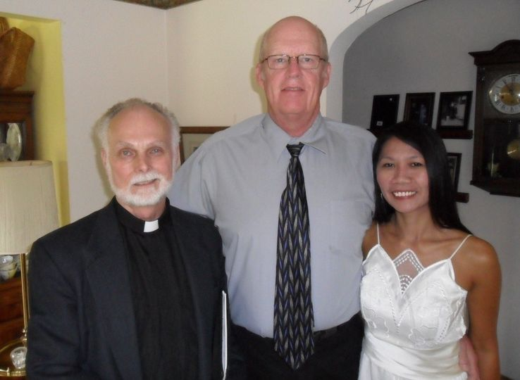 Reverend and the couple
