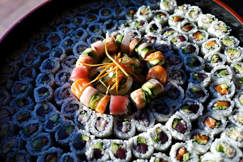 Maki platter