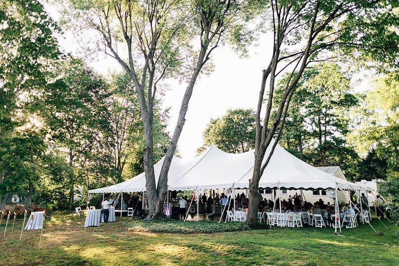 Tent reception | Jeff Frandsen